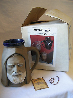 vintage Star Wars OBI WAN KENOBI Rumph ceramic mug California Originals Ben +BOX