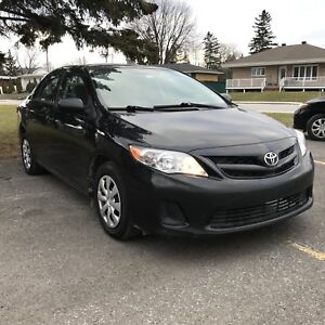 CERTIFIED 2012 TOYOTA COROLLA FULLY LOADED 8290&