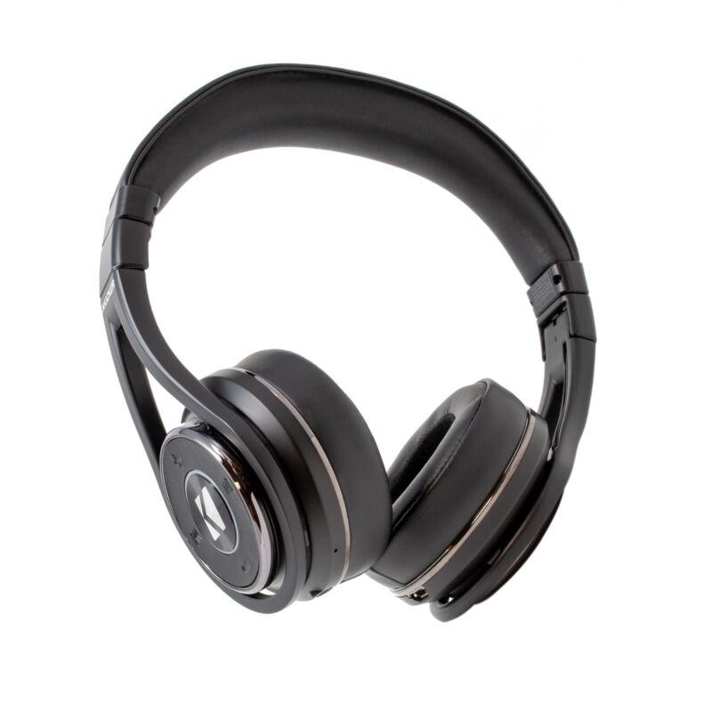 Kicker CushBT Wireless Bluetooth Headphones 20 Hour Battery Life