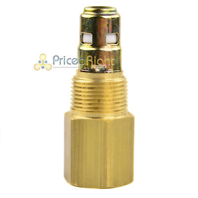 34 X 34 Air Compressor In Tank Check Valve Brass
