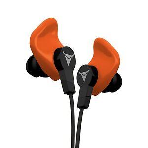 Decibullz Custom Molded Earphones Contour Orange