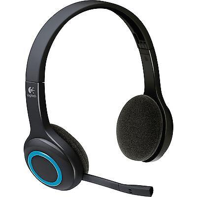 Logitech Wireless Headset H600, schwarz H600 Wireless Headset