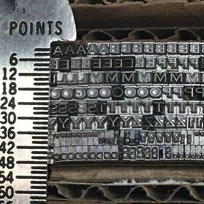 Copperplate 6 Pt - Letterpress Type - Vintage Printer Metal Lead Printing Sorts