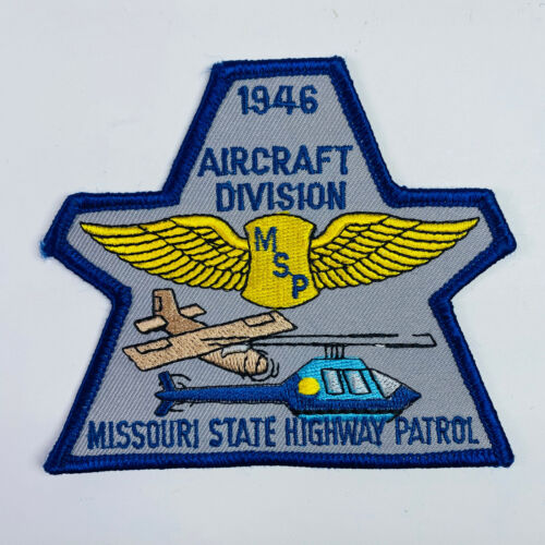Aircraft Division Missouri State Highway Patrol Patch