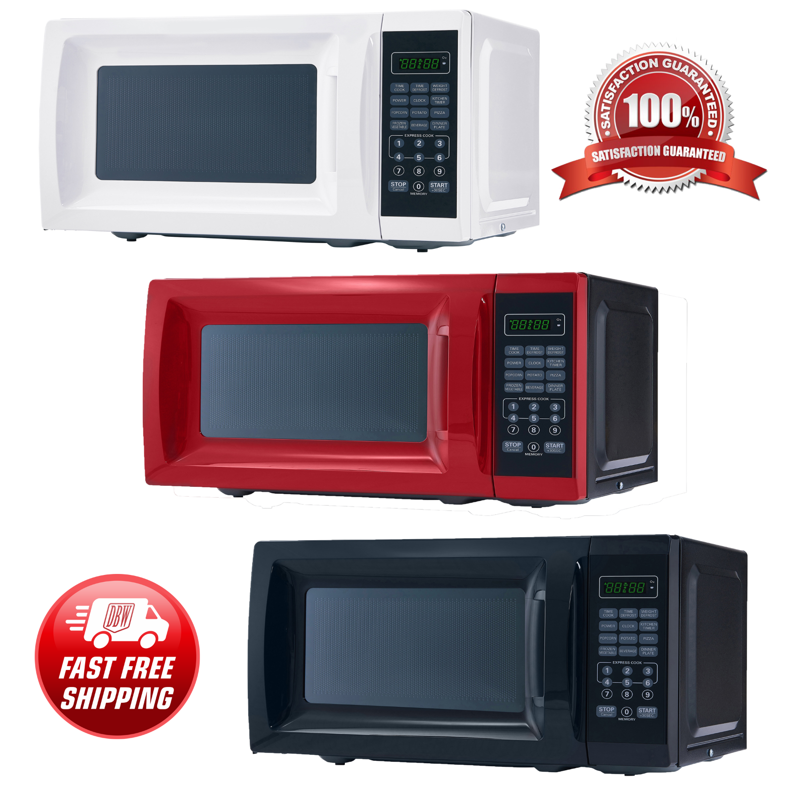 countertop microwave oven kitchen home office digital