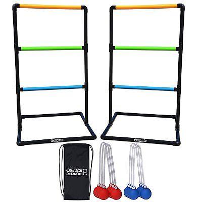 Neon Ladder Toss / Hillbilly Golf Game - Backyard fun!