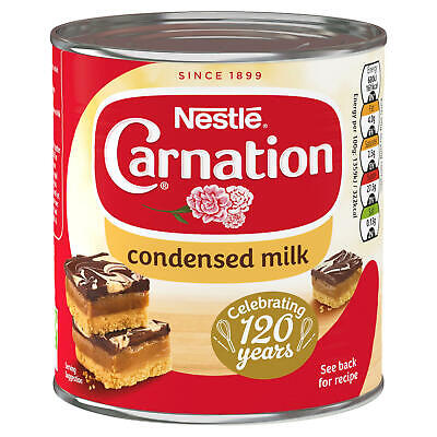 Nestle Carnation Sweetened Condensed Milk 1kg. Suitable for Vegetarians.