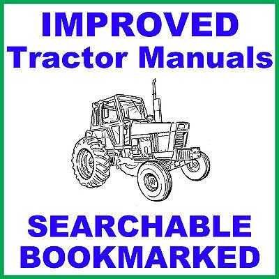 Ih International Case 274 284 Tractor Workshop Service Repair Manual On A Cd