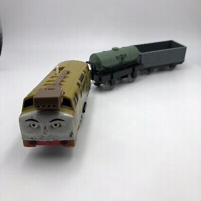 Gullane Trackmaster Thomas & Friends Diesel 10 Takes Charge Set Lot Train Tanker