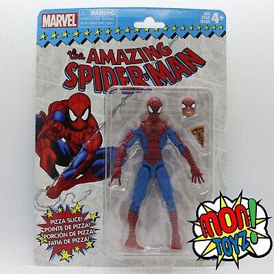Spider-Man Marvel Legends Vintage Retro Wave 1 Pizza Marvel Comics New