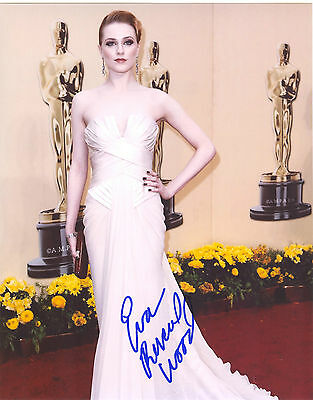 Evan Rachel Wood Signed 8X10 Photo   True Blood   The Ides Of March
