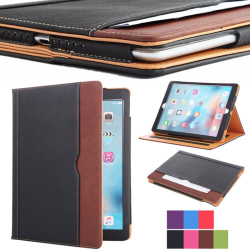 New Soft Leather Folio Wallet Smart Case Cover Sleep Wake Stand For Apple iPad Cases, Covers, Keyboard Folios