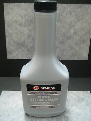 Power Steering Fluid for Mazda Mitsubishi by IDEMITSU 12 oz bottle - Ships (Power Steering Fluid For Mitsubishi Montero Sport)
