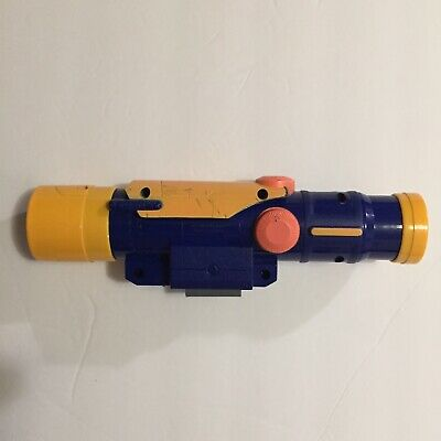 Nerf Longshot CS-6 Blue Yellow Tactical Sniper Scope Longstrike Attachment