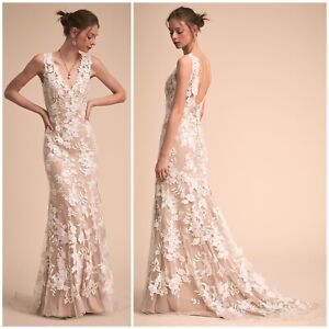 23a6bc3f758 (SOLD OUT) Beautiful BHLDN Liesel Wedding Gown