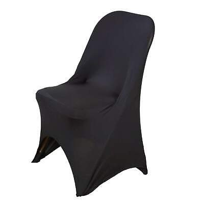 Sleek Spandex Folding Chair Covers Wedding Party Banquet Cho