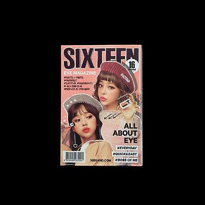 16 Brand Sixteen Eye Magazine #01 Everyday Eye shadow Eye Makeup Korean Cosmetic