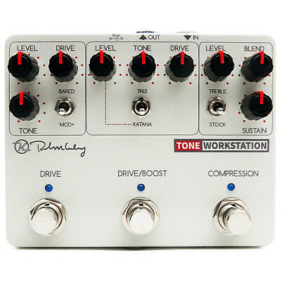 Keeley Electronics Tone Workstation Compressor Overdrive Boost Pedal