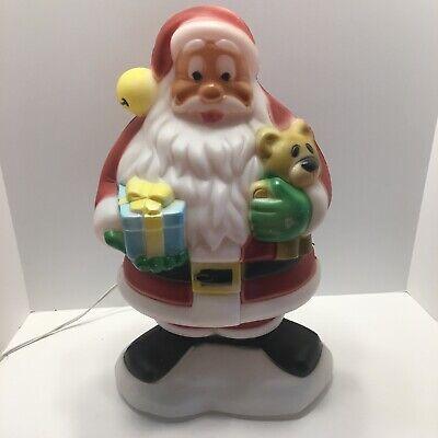 "Vintage Christmas Santa Blow Mold 18"""