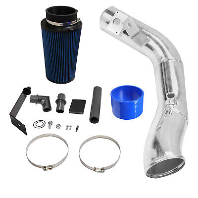 Fit 2003-2007 Ford F250 F350 6.0L Powerstroke Diesel Polished Cold Air Intake