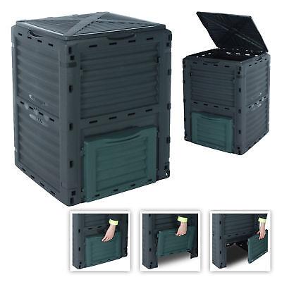 Komposter Gartenkomposter 300 Liter Thermo Kompostbehälter Thermokomposter