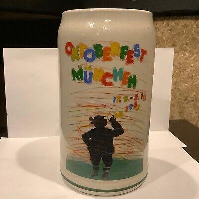 1983 MUNICH OCTOBERFEST Beer Stein Mug (MUNCHEN OKTOBERFEST) RASTAL