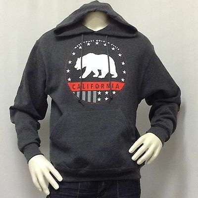 TONY HAWK SWEATER HOODIE MENS S M L XL 2XL CALIFORNIA BEAR JACKET PULLOVER NEW  - Bear Hoodie