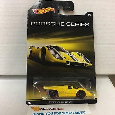Walmart Hot Wheels (Porsche 917K * Yellow * Hot Wheels Porsche Series Walmart Only *)
