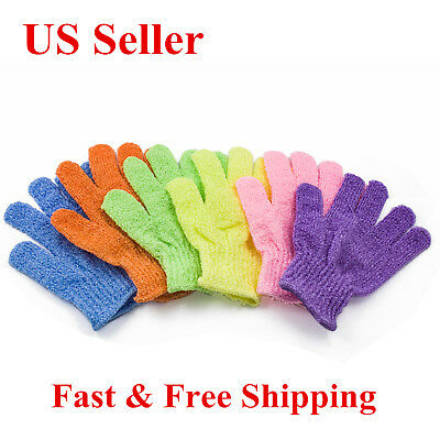 Exfoliating Bath Soap - Exfoliating Spa Bath Gloves Shower Soap Clean Hygiene Wholesale  Lots US SELLER