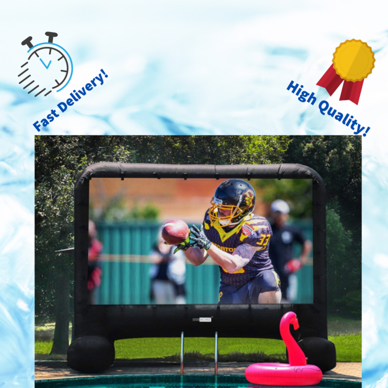 VIVOHOME 14Feet Indoor and Outdoor Inflatable Blowup Mega Mo