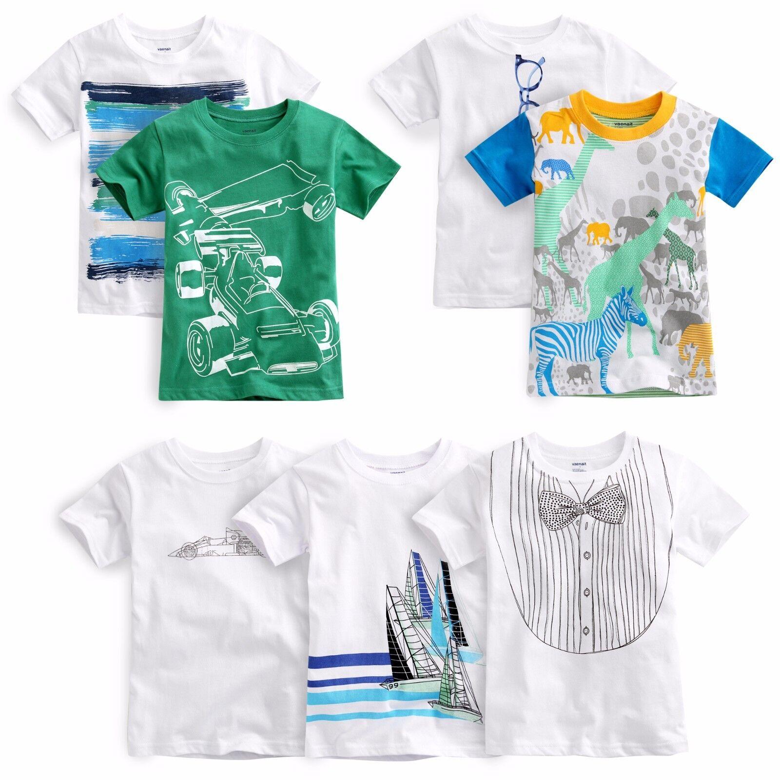 "Vaenait Baby Toddler Kids Boys Round Neck Top T-Shirts ""Boys"