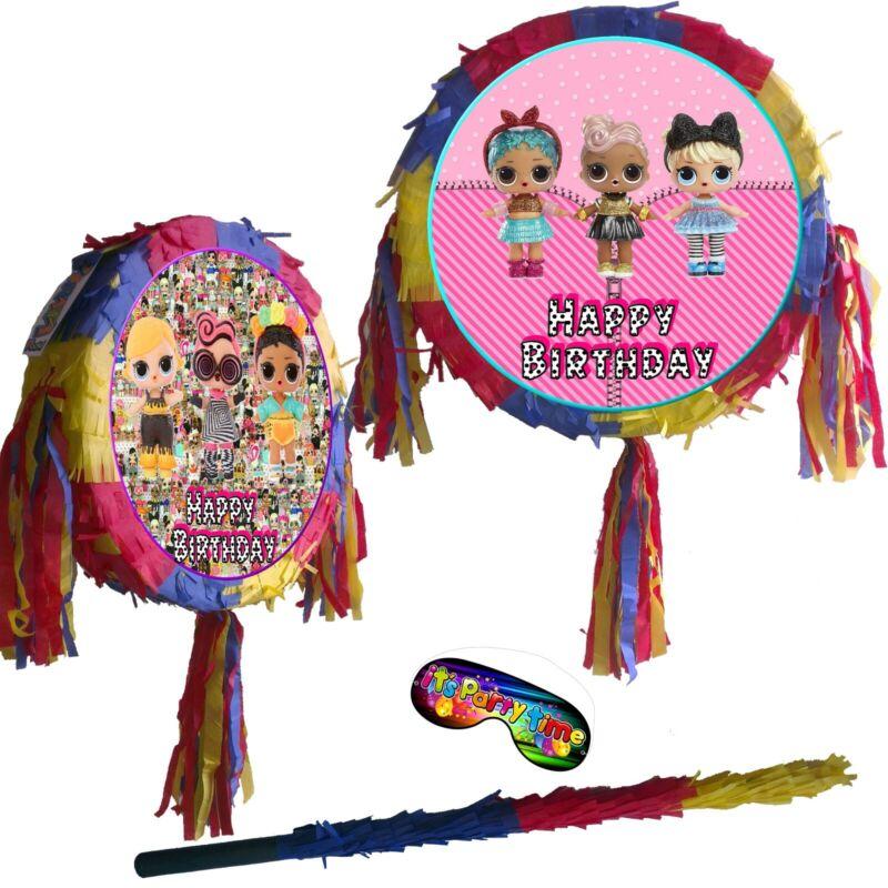 LIL Pinata Kids Fun Game Surprise Dolls SIS Egg LQL LOL