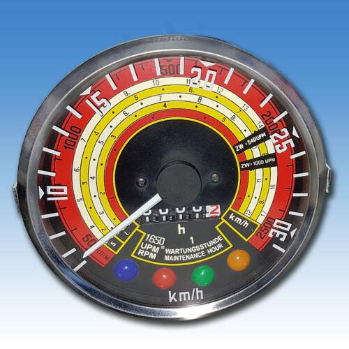 Traktormeter Tachometer für Deutz D 6006 D 7006 Traktor Schlepper Trecker 701 Foto 1