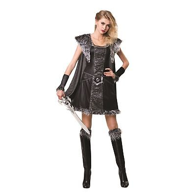 Medieval Warrior Princess Game of Thrones Historical Ladies Fancy Dress Costume](Female Viking Warrior Costume)