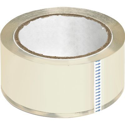 Business Source Packaging Tape 2.5 Mil 3 Core 2x55 Yds 6pk Clear 64013