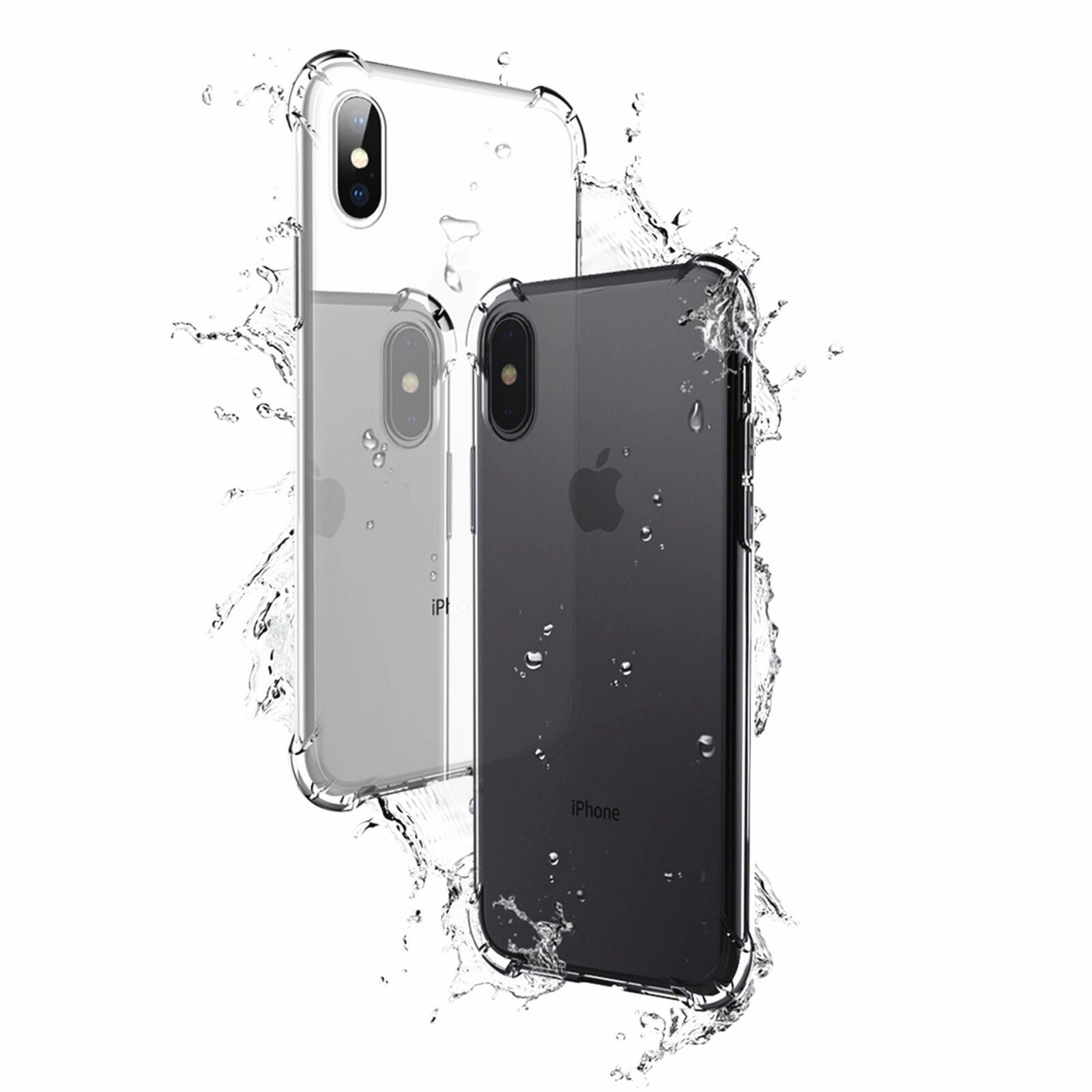 Купить Storm Buy - Hybrid Shockproof Thin Clear TPU Bumper Case Fits iPhone
