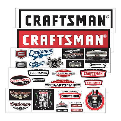 Craftsman Decal Set - For Sale