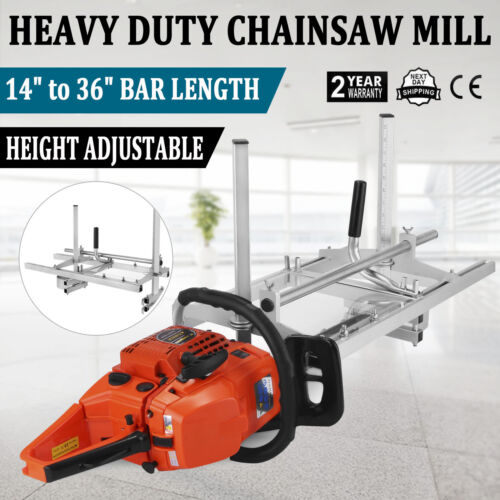 "Portable Chainsaw mill 36"" Inch Planking Milling 14"" to 36"""