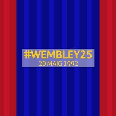 2016-17 Barcelona #WEMBLEY25 Player Issue Match Details MDT for Shirt Jersey