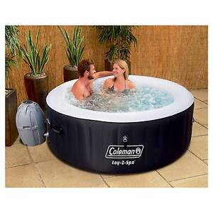 Anuncio Jacuzzi.Coleman Lay Z Spa 71 X 26 Inflatable 4 5 Person Portable Black Hot Tub 13804