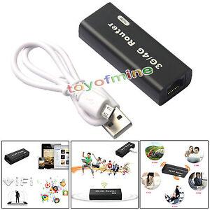 Routeur sans fil Mini 3G / 4G WiFi Hotspot Wlan AP client