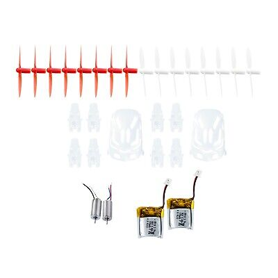 Hubsan spare parts crash pack for X4 H111 Quadcopter drone - White