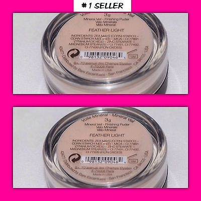 Duo Bare Minerals Feather Light Mineral Veil 3G ea. NEW Sealed - Feather Light Mineral Veil