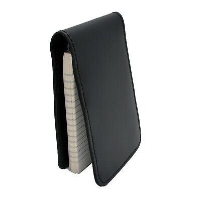 Perfect Fit Police Leather Notebook Case Pocket Note Pad Top Opening 3x5 Memo