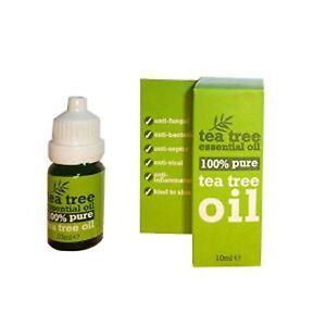 Tea Tree 100% Pure Essential Oil Anti Fungal 10ml