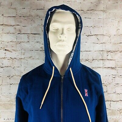 Doctor Who Box Lunch Exclusive Men's Medium Plaid Hoodie Full Zipper NWT - Doctor Who Hoodie