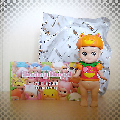 Sonny Angel Figure 2015 Halloween Series Pumpkin Cat Cake Topper Baby Doll Toy](Sonny Angel Halloween Series)