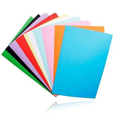 NEU Tonpapier bunt farbig Blatt Bastelpapier DIN A4 Mix  Block basteln Set s20 online kaufen