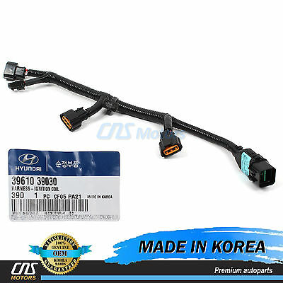 GENUINE Ignition Coil Wire Harness for 2001-06 Santa Fe XG350 Amanti - Ignition Coil Wire