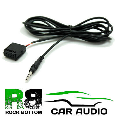 FORD Transit 2006-2012 6000 CD Car MP3 iPod iPhone Aux In Input 3.5mm Jack Lead